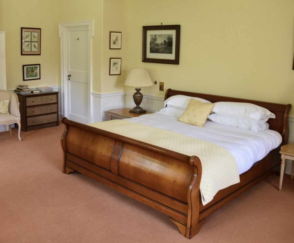 Cox Suite - first floor double bedrooms is one of the largest rooms