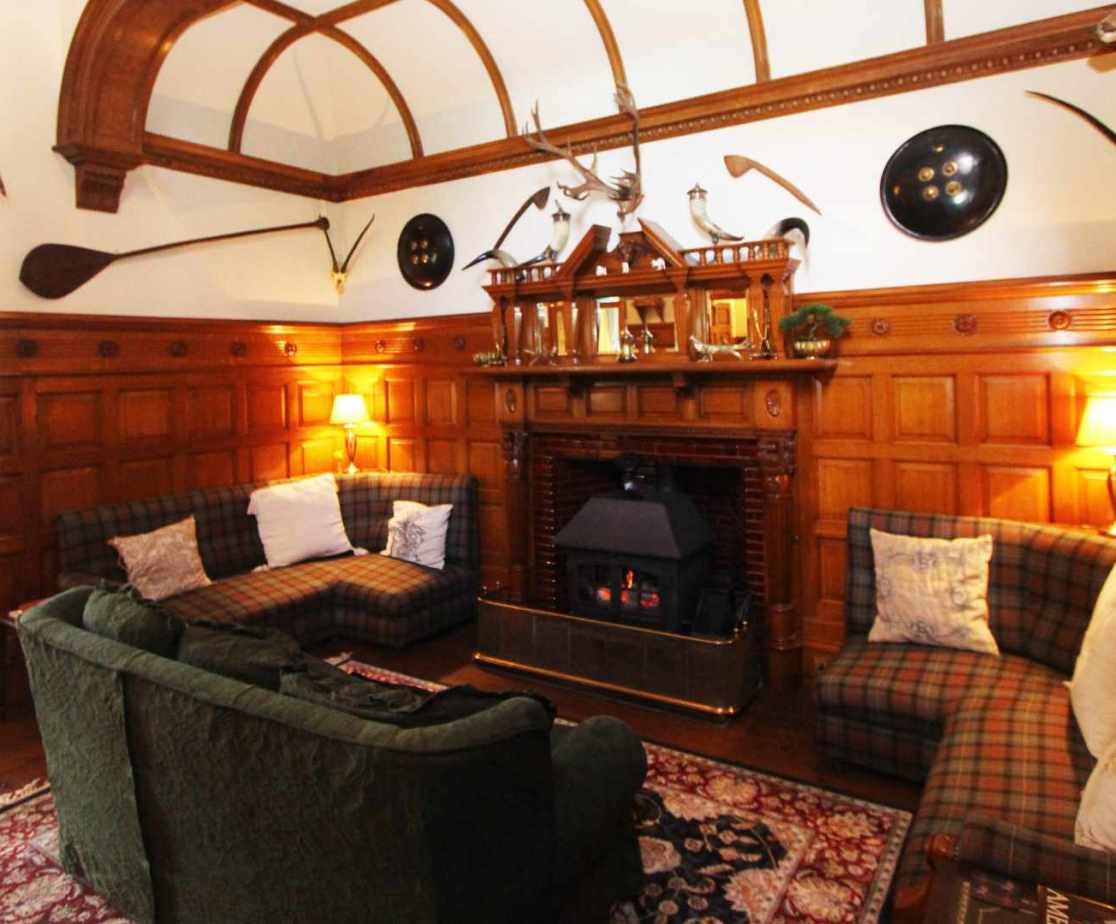 The entrance hall and snug always proves popular
