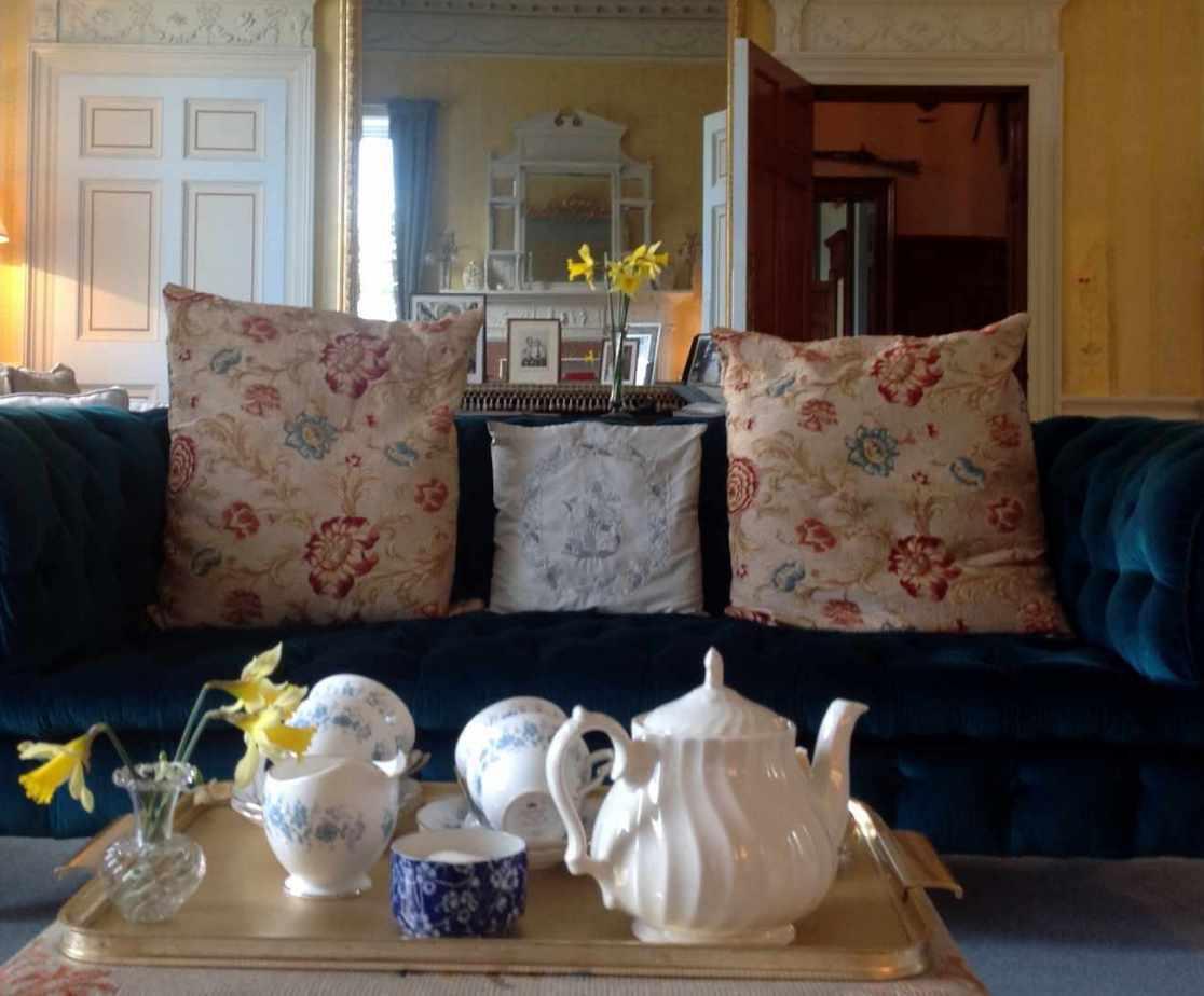 Sit back and enjoy tea