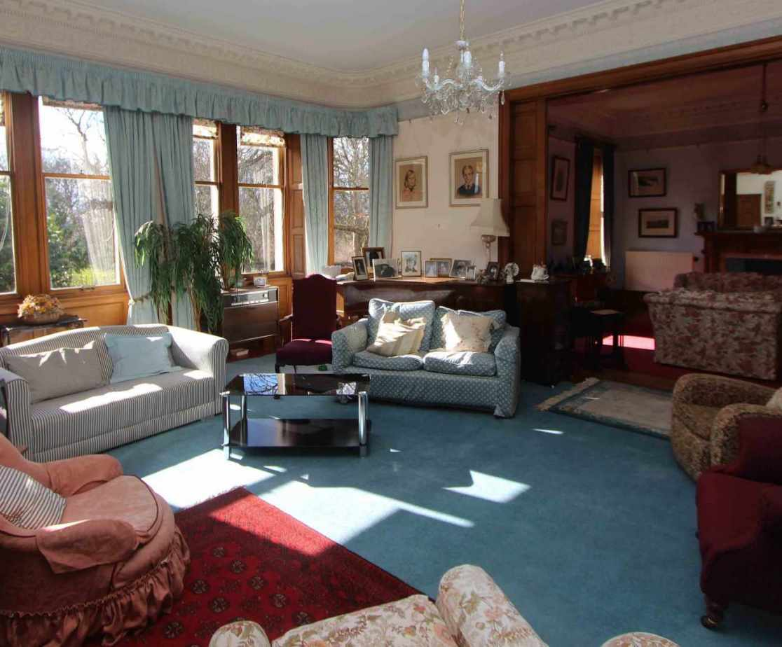 The family sitting room is great for children or as a function room
