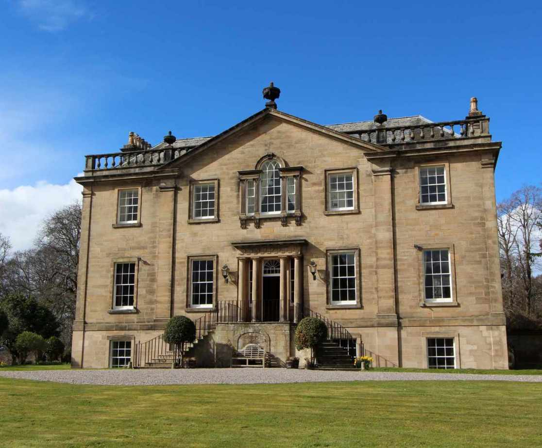 The Scottish mansion house is located near Forres in Moray