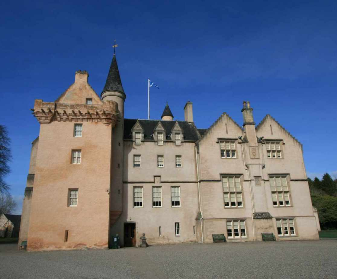 Brodie Castle is open to the public