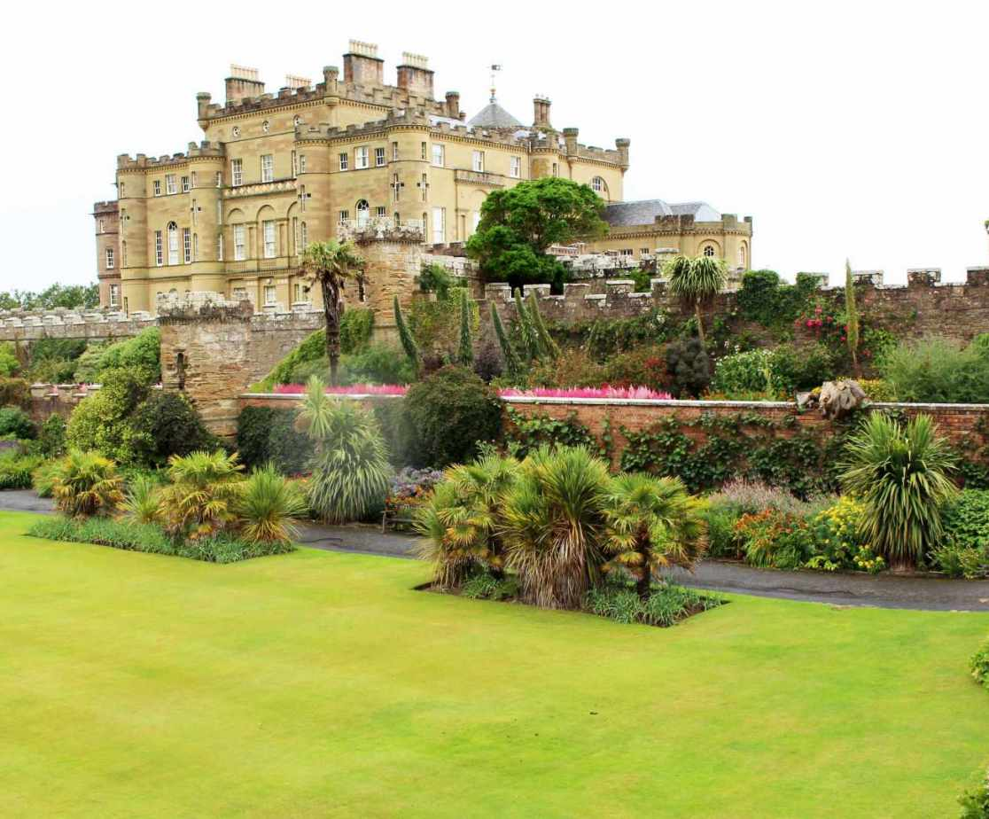 Culzean Castle is about an hour round the bay but worth the trip