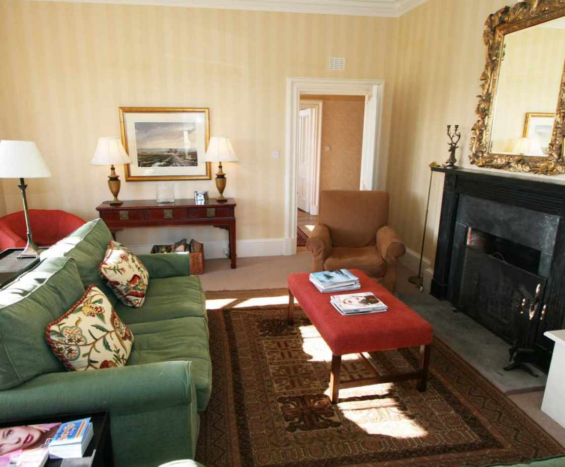 The drawing room is elegantly furnished