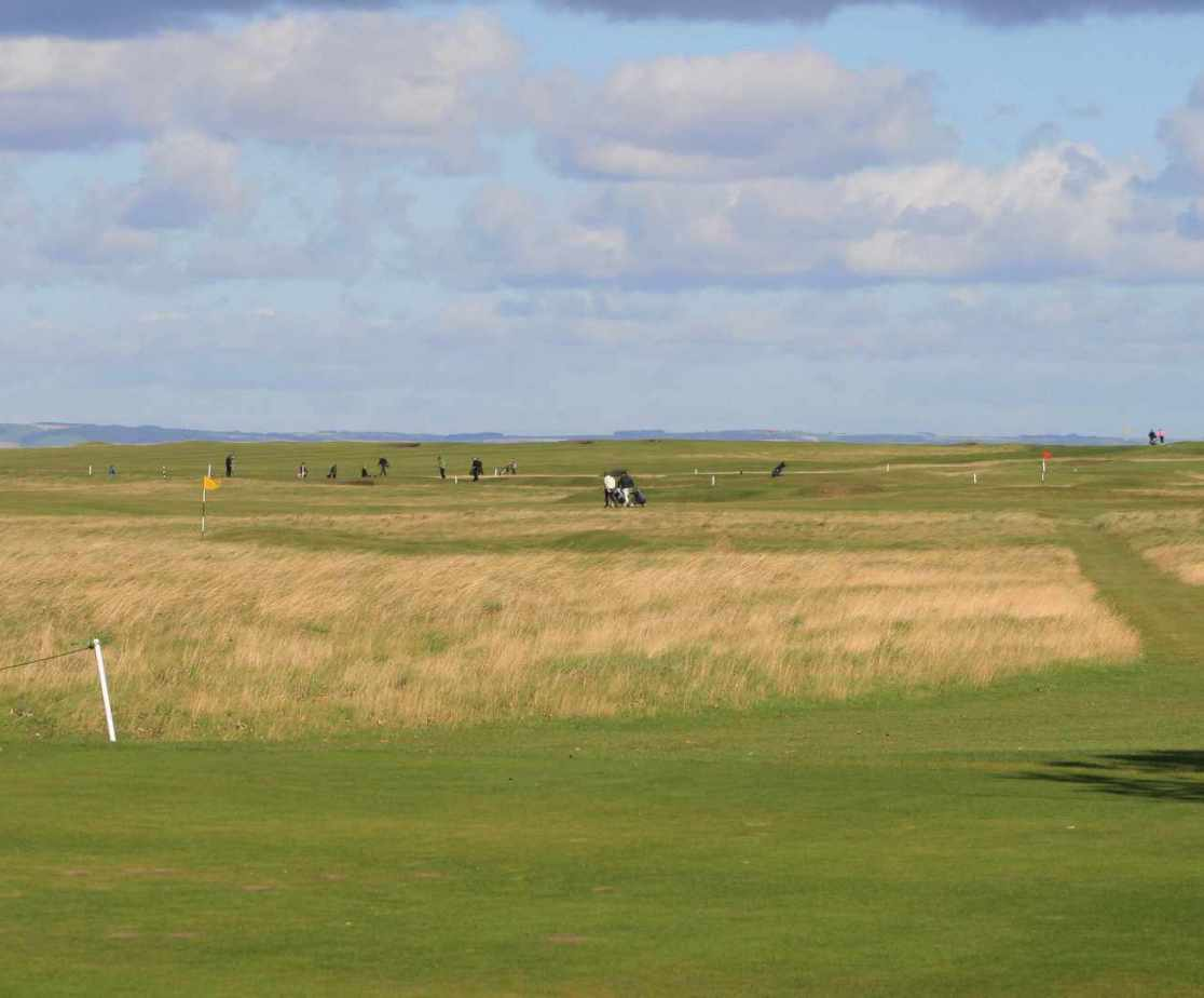 East Lothian has many challenging links golf courses