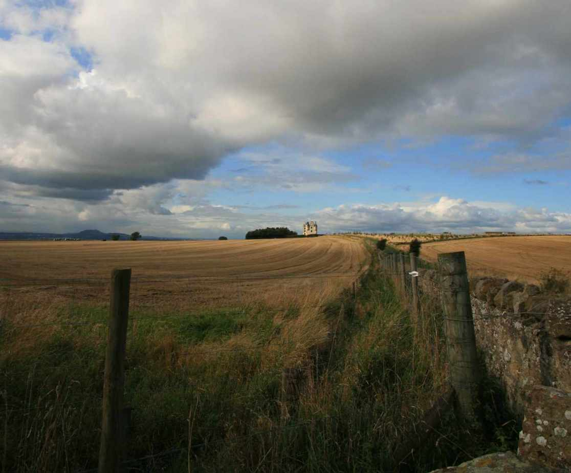 East Lothian is a county of golf courses and castles