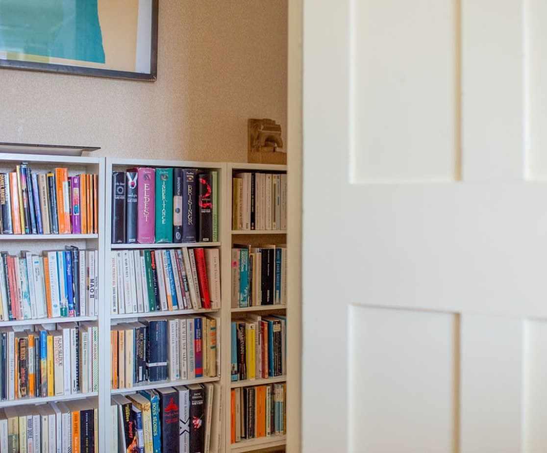 Bedroom 5, onto passage
