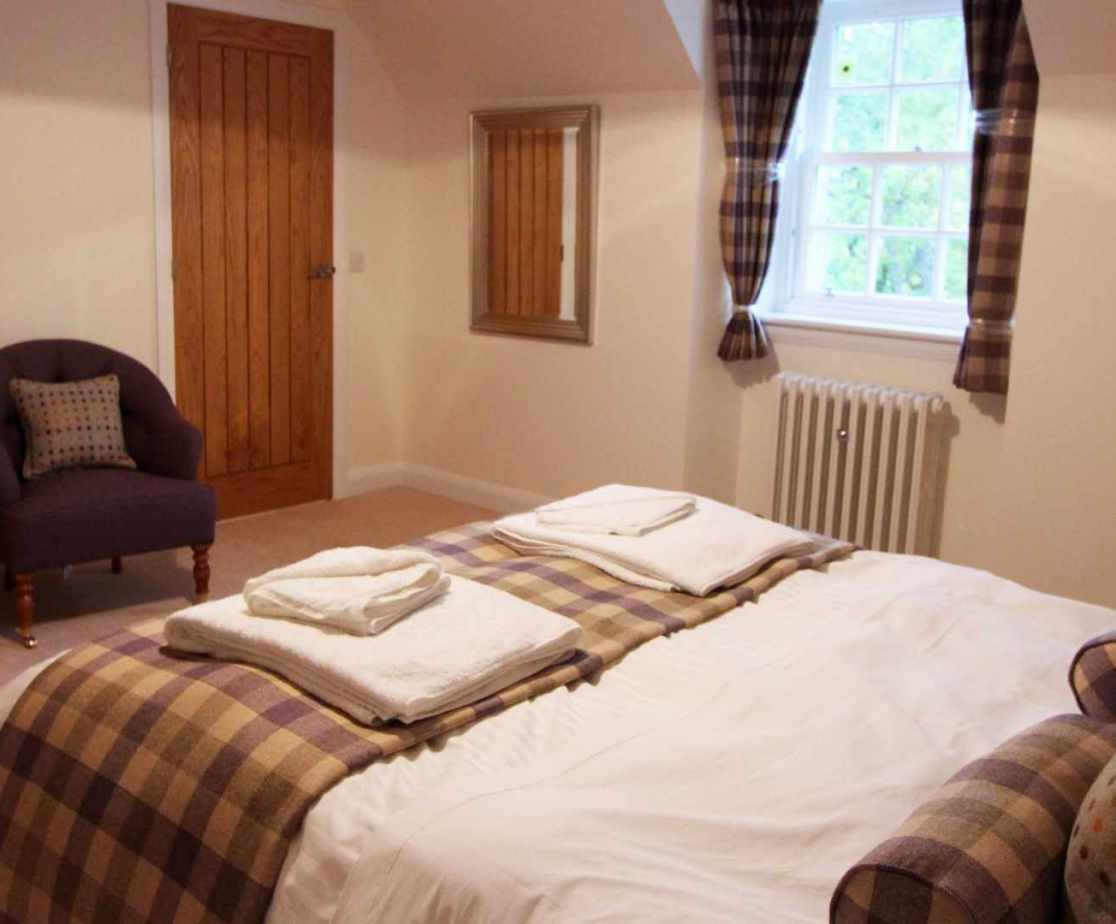 Room 3 is the double bedroom on the first floor