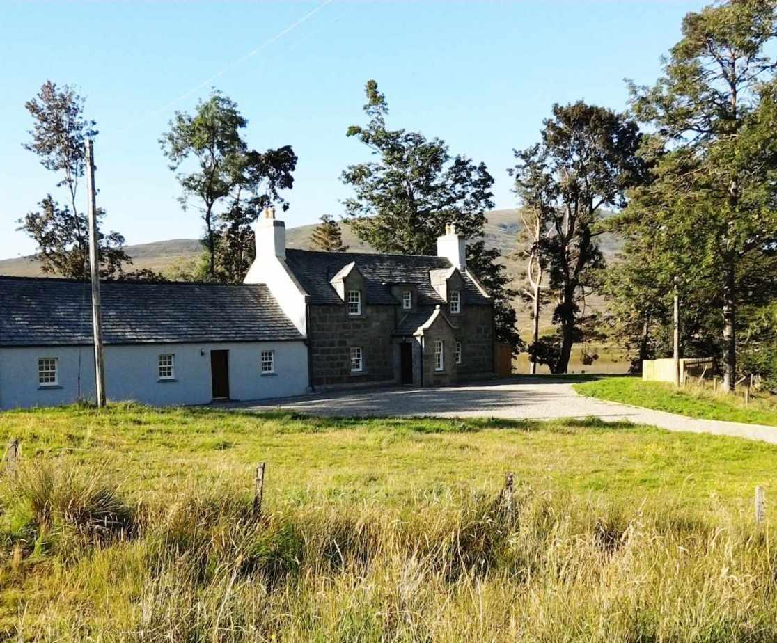 Holiday house in Scotland sleeps 10, near Newtonmore