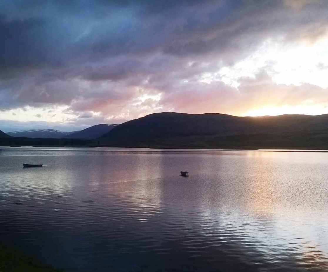 You will miss this view acoss the loch when you leave