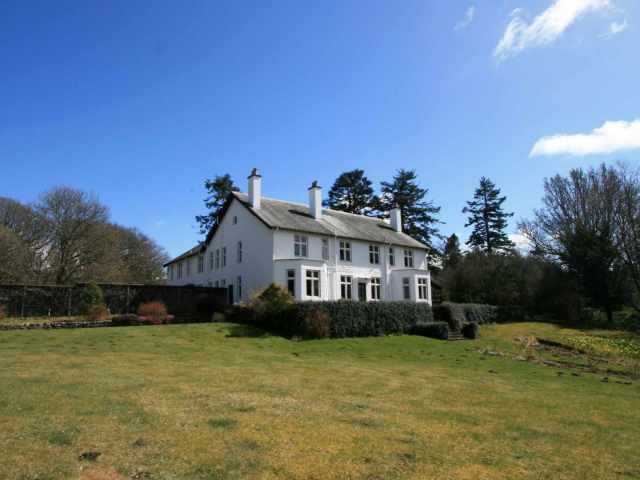 Located on a 850 acre private estate with great views