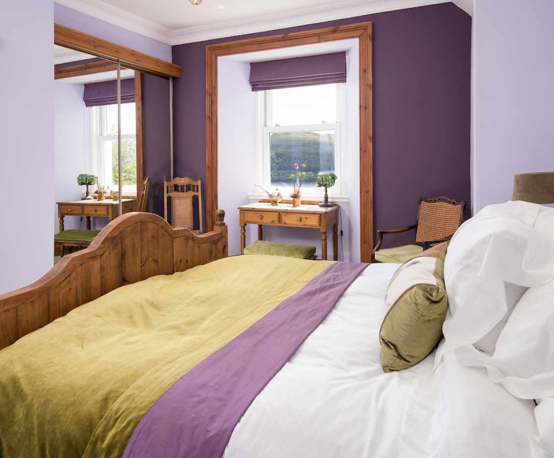 Another of the loch view rooms