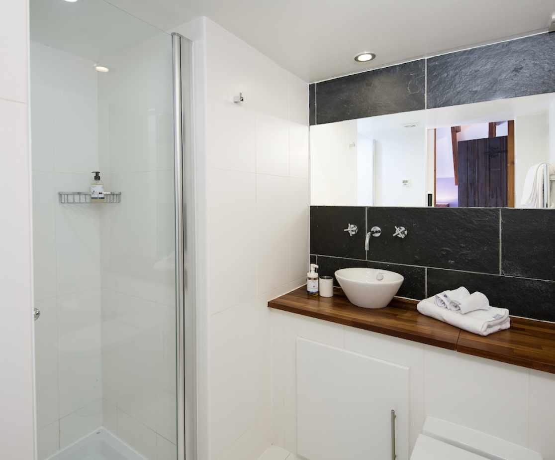 The \'Merlin\' en-suite shower room