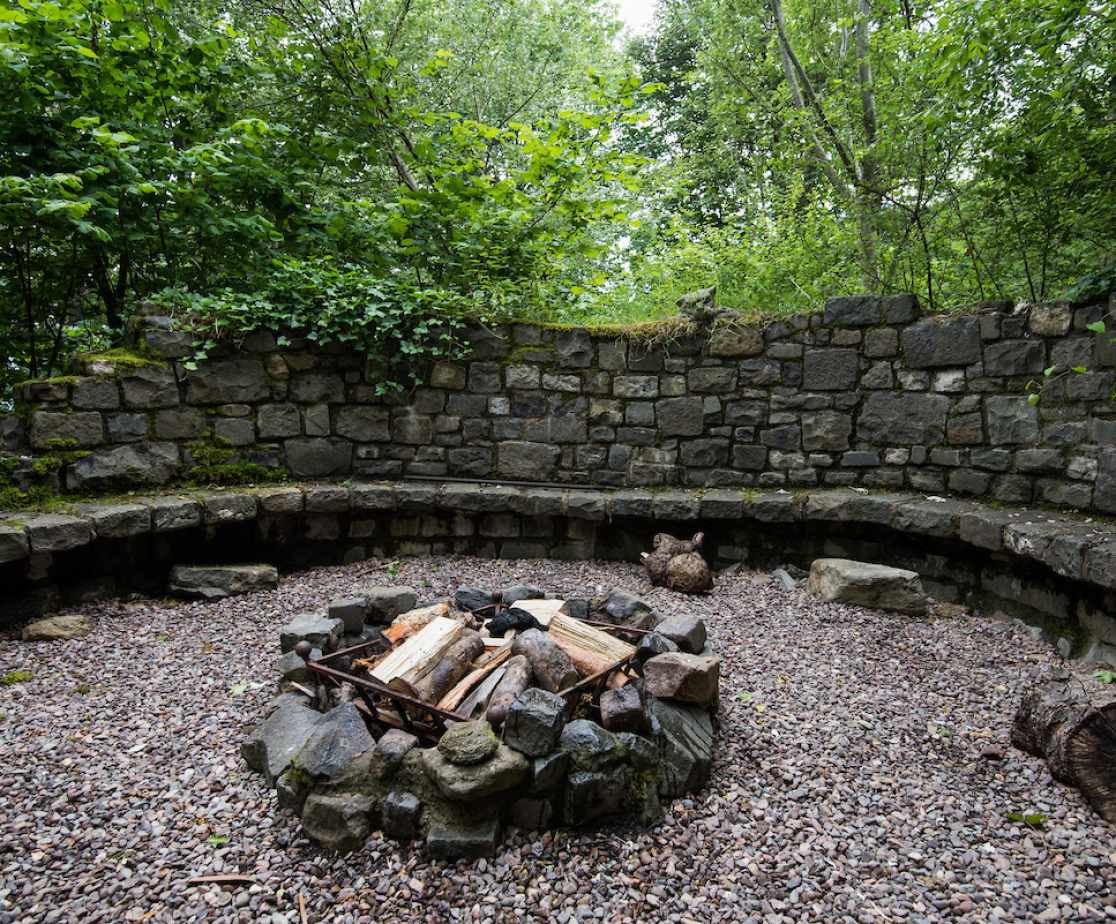 Or toast marshmallows at one of the fire-pits in the grounds