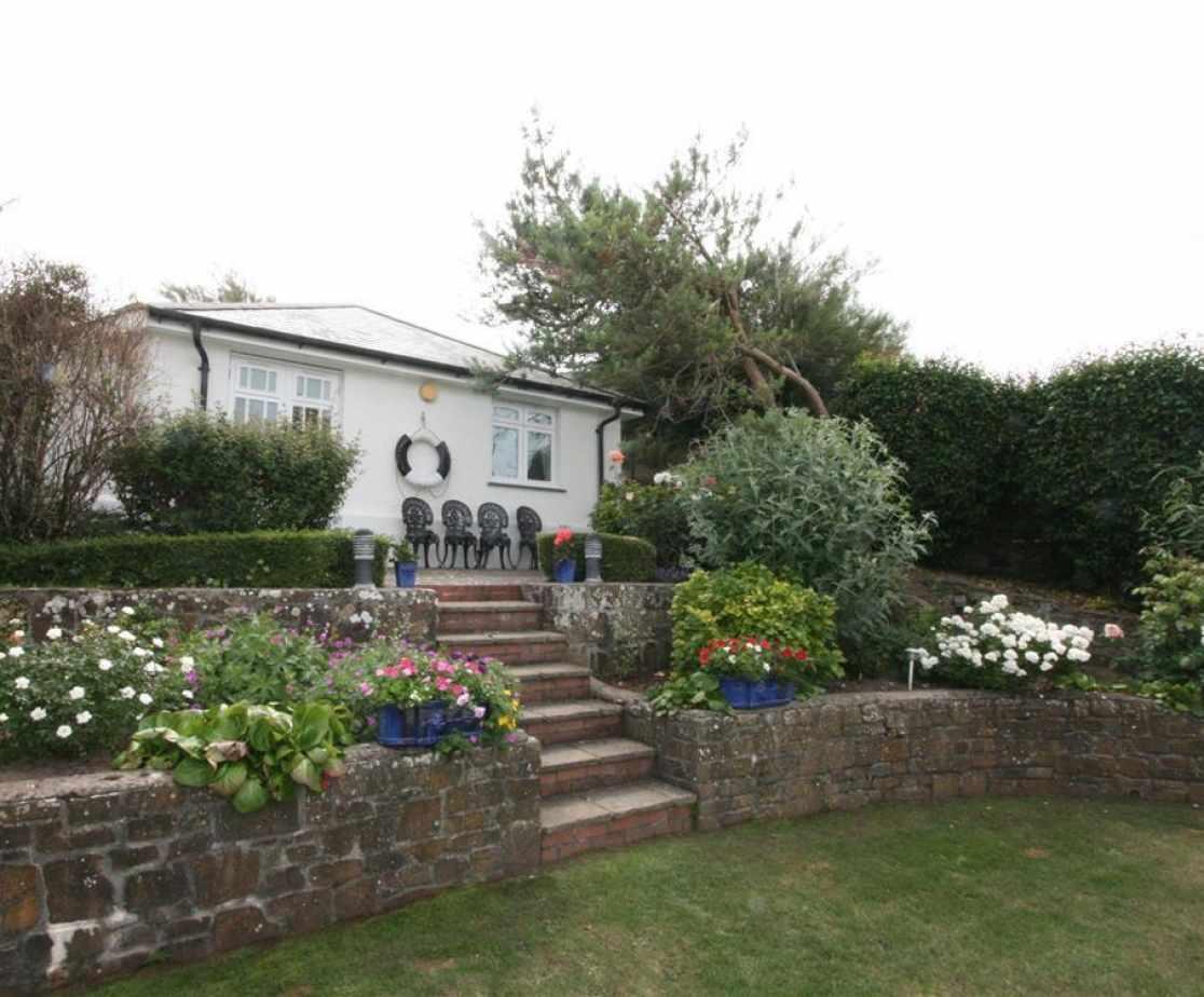 Garden and annexe