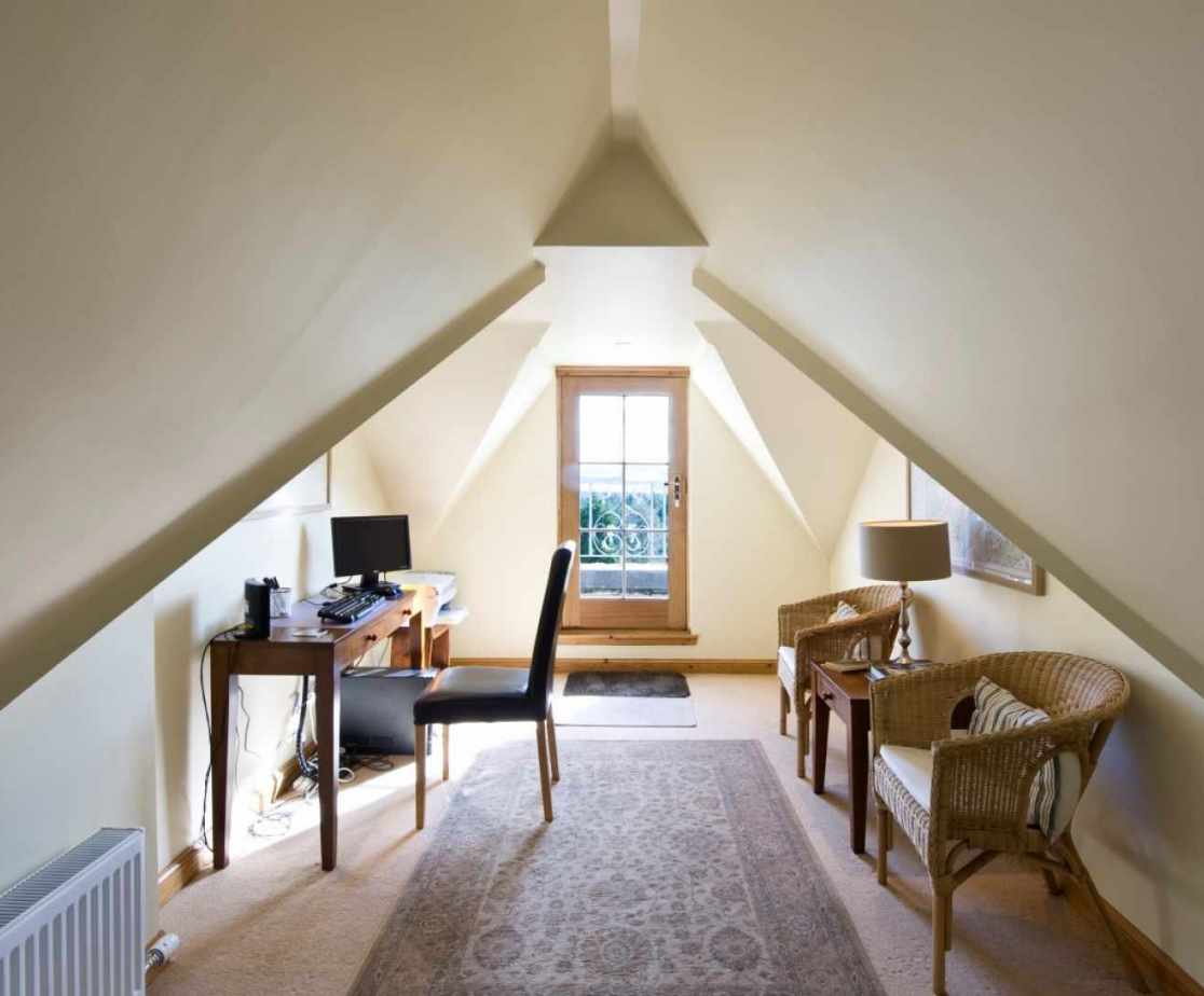 Castellated Luxury Mansion - study