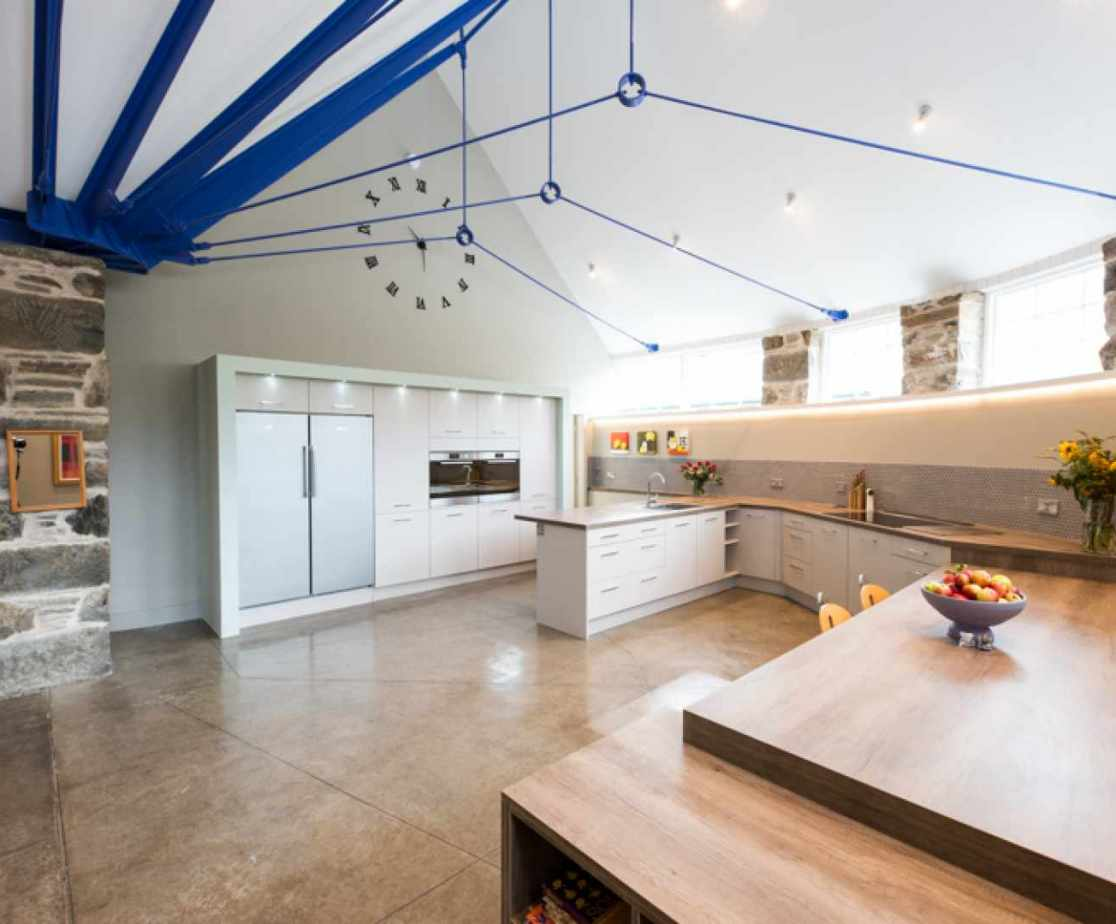You could cook up a feast in the kitchen