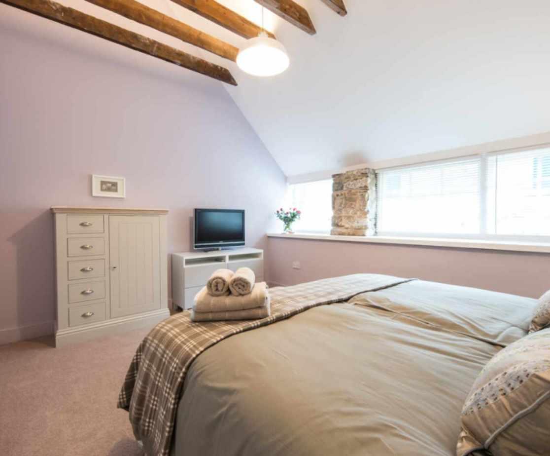 Bedroom 2, another stunning room with en-suite
