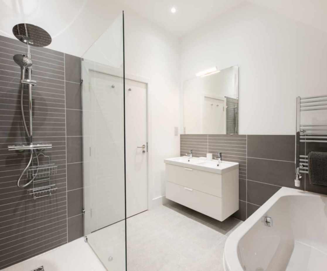 En-suite shower room for bedroom 4
