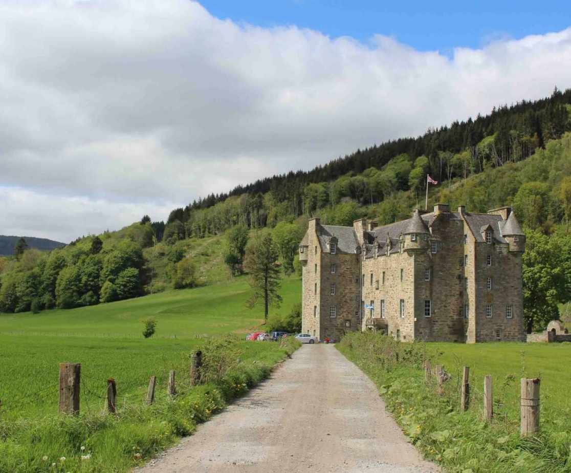 Castle Menzies which is close proximity to the house