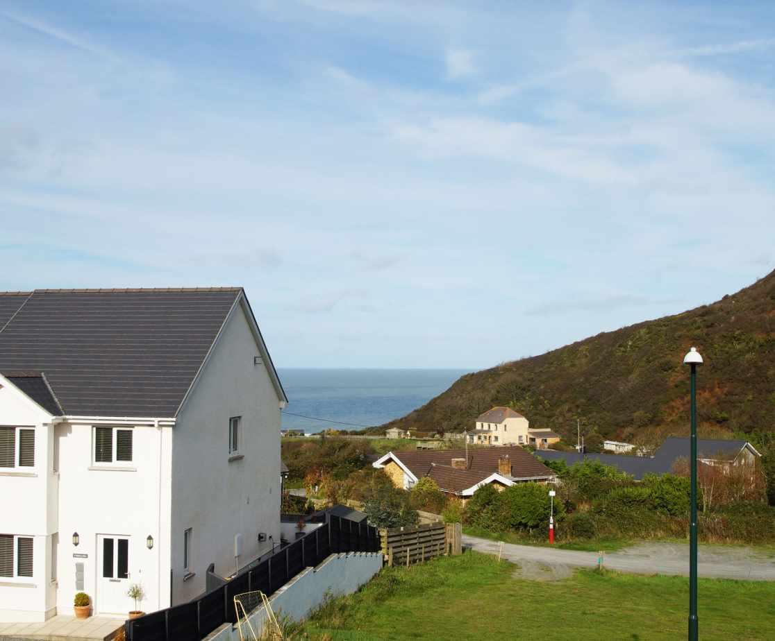 Sea View from Hafod y Bryn