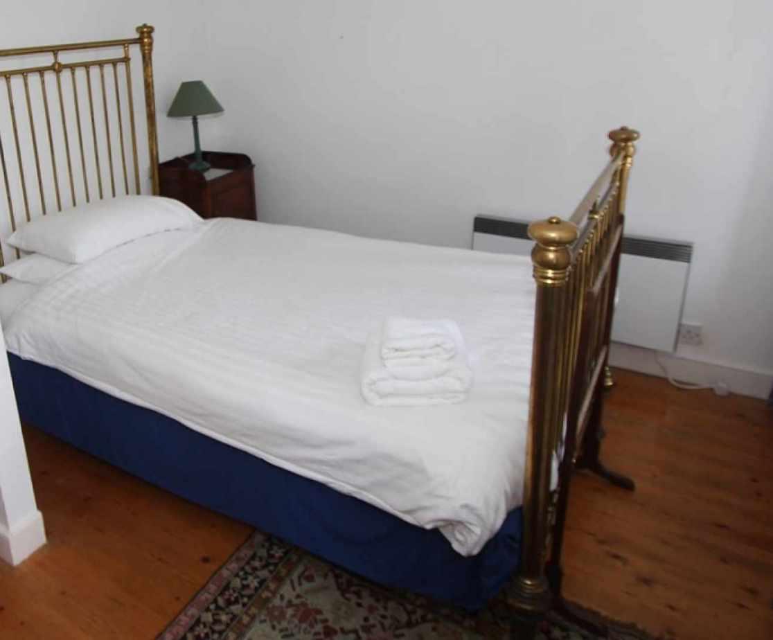 Bedroom no 3 is a cosy single room