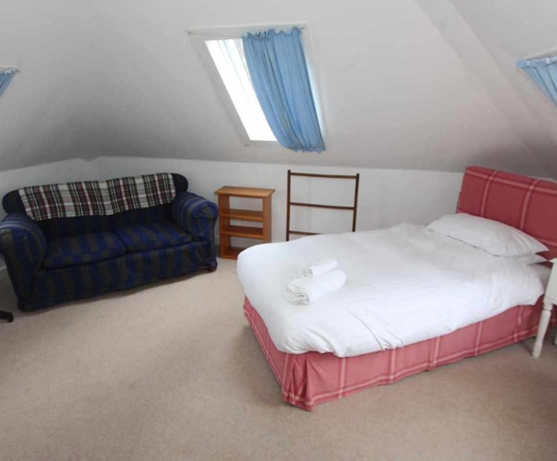 Bedroom no 4 is a first floor single room