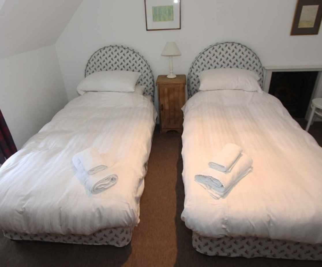 Bedroom no 6 is another first floor twin room