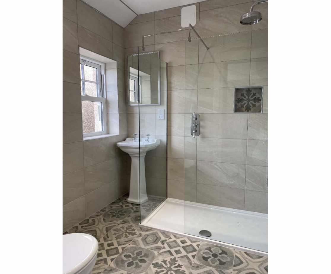Exquisitely finished bathroom