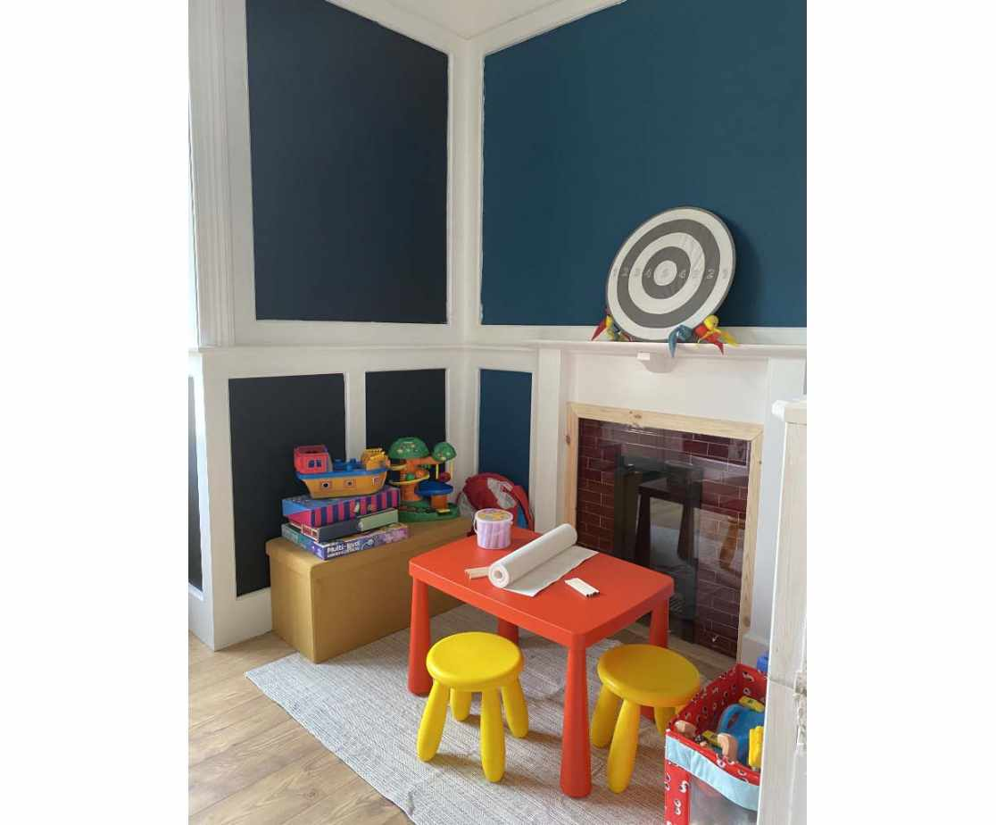 Complete with children\'s play area