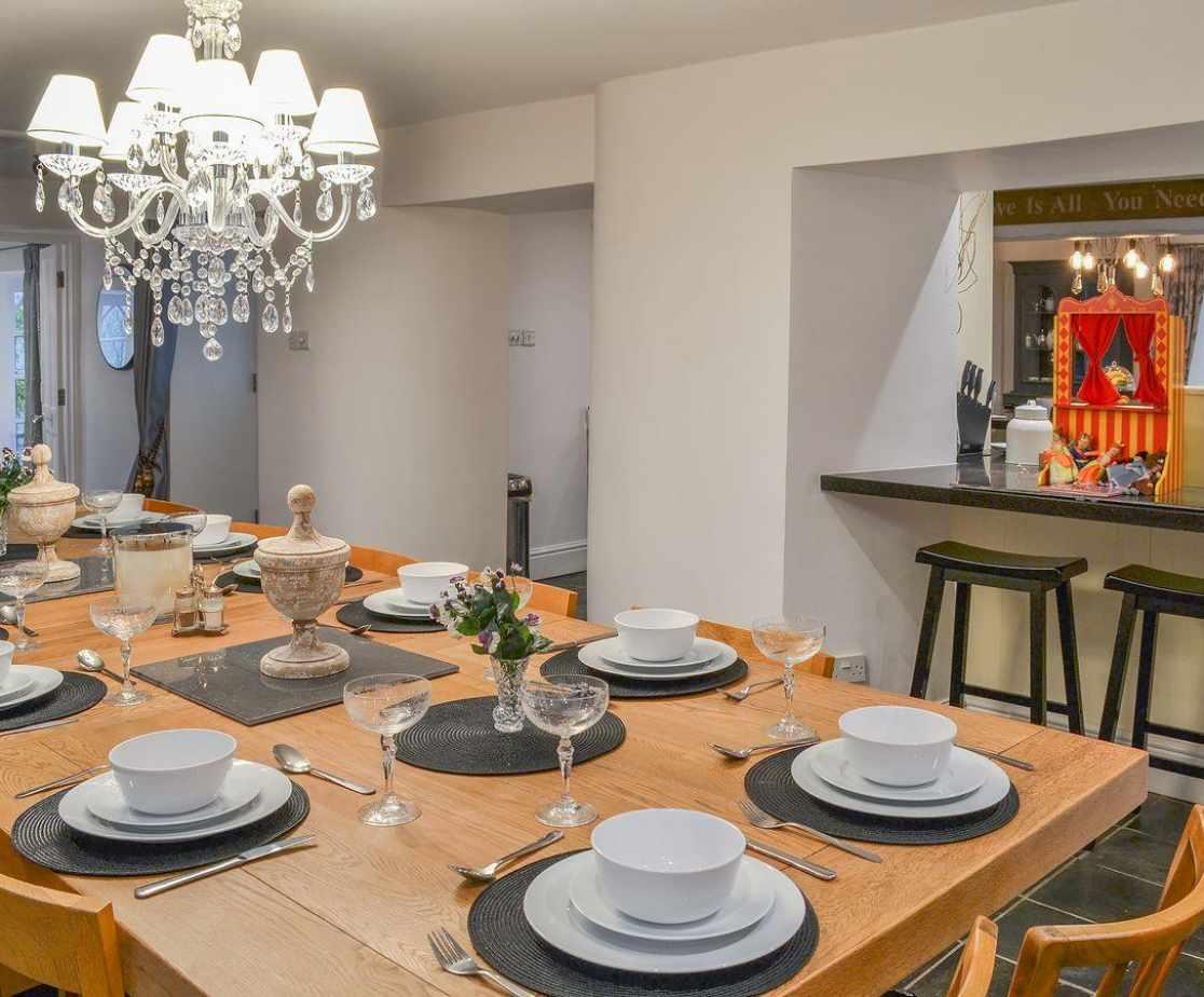 Wonderful grand dining room