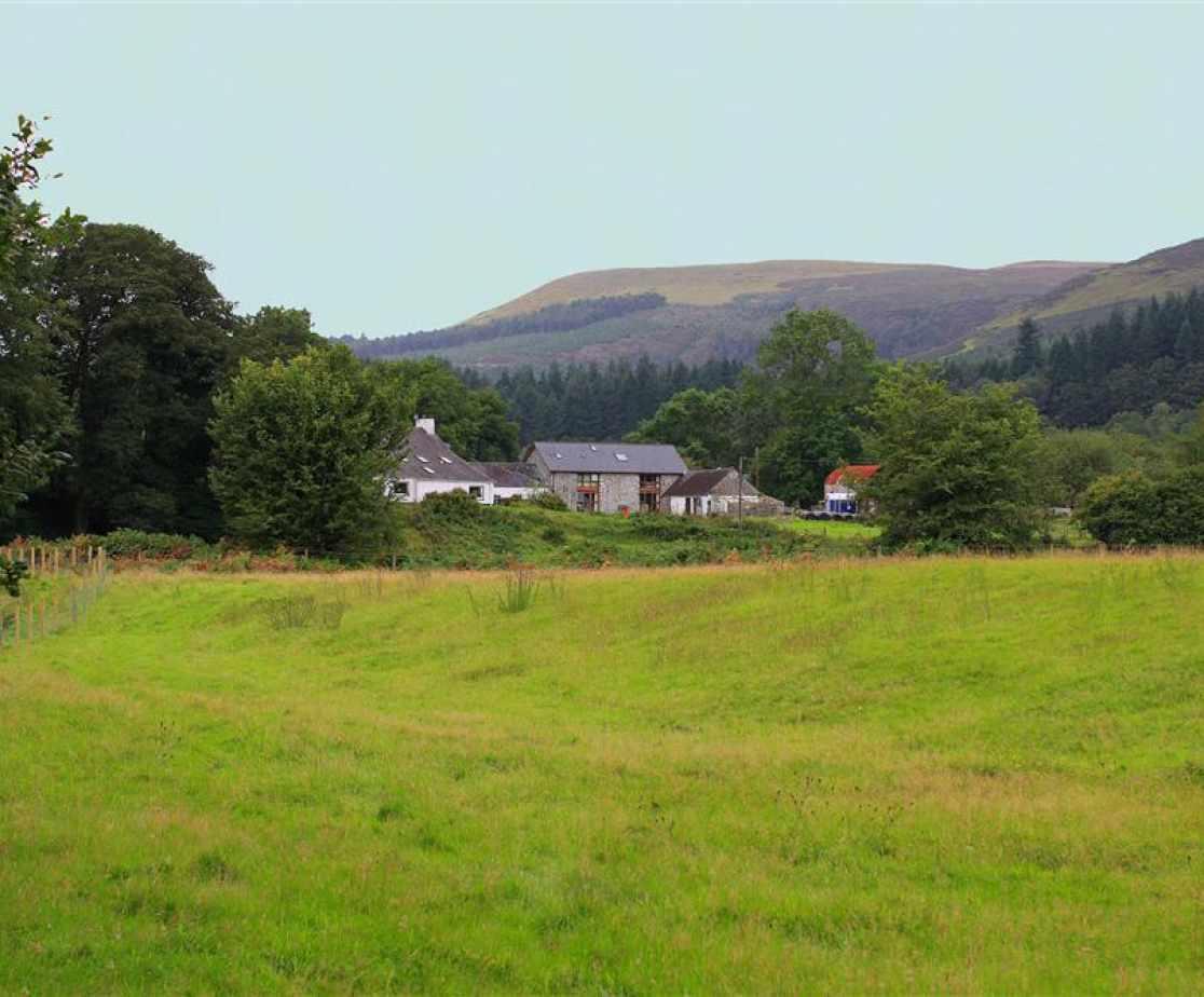 Penrhyn Barn and farm