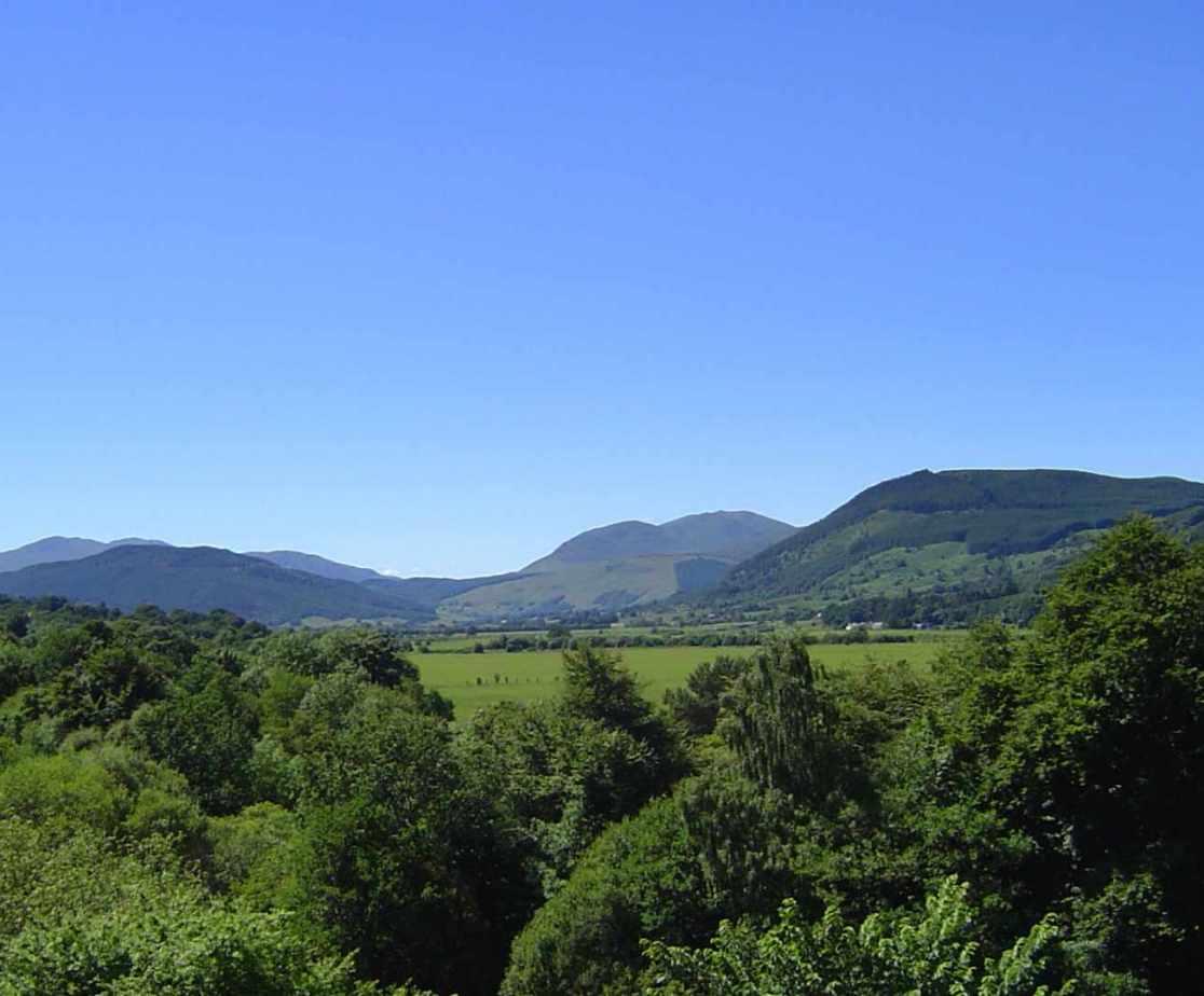 Long views near Aberfeldy