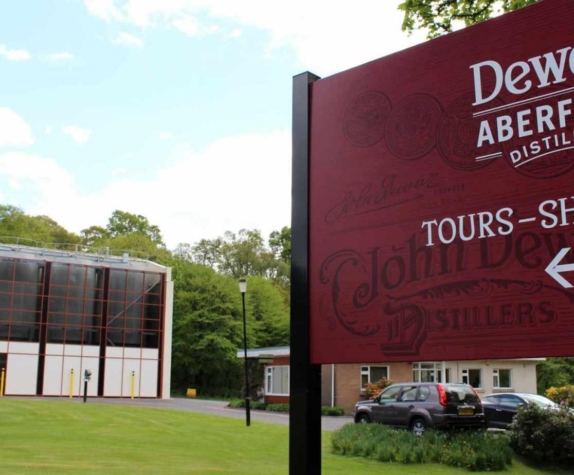 Dewars Distillary is worth a visit