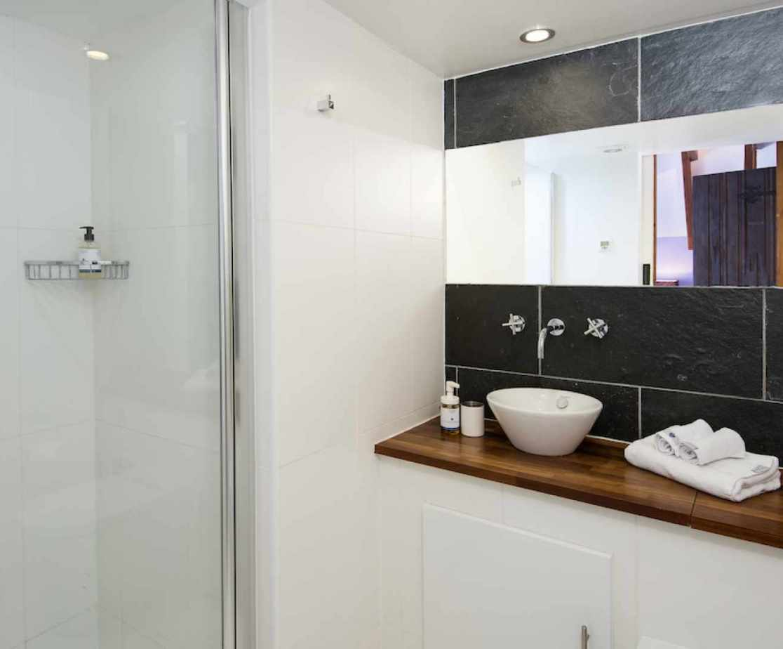 The \'Merlin\' en-suite shower room