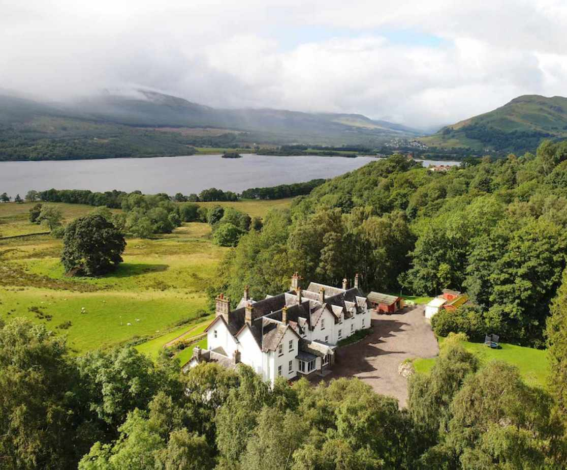 A five star venue overlooking Loch Tay