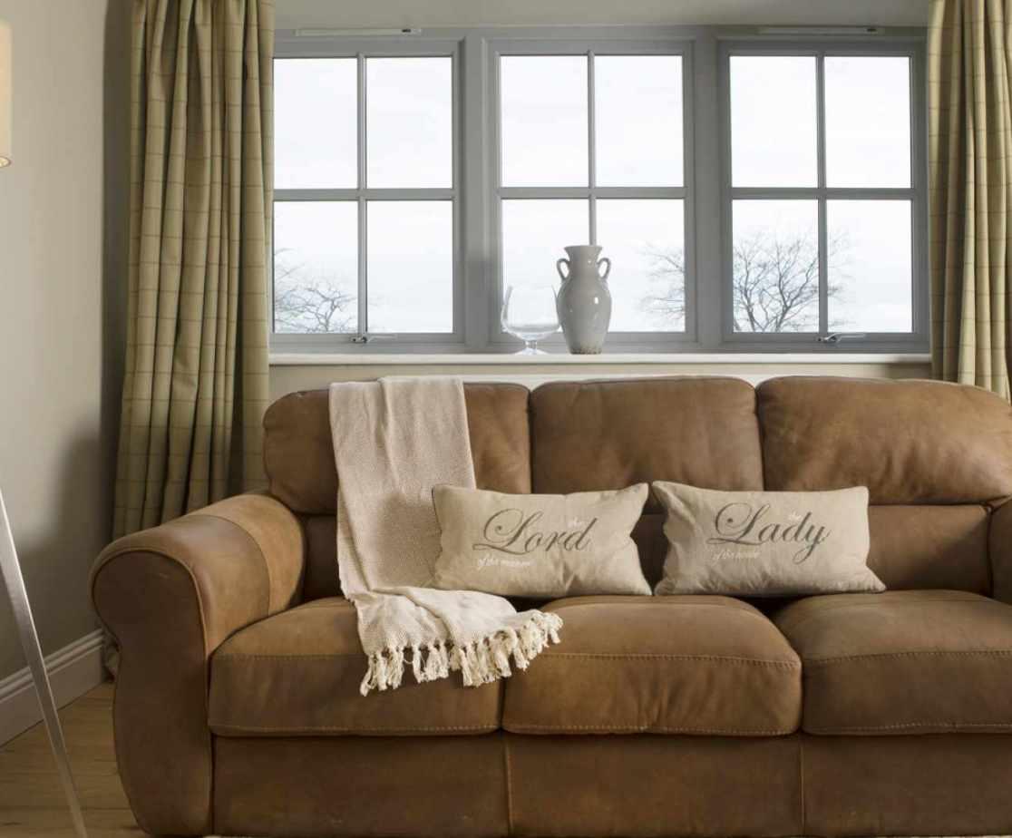 Luxury Perthshire Farmhouse, sitting room