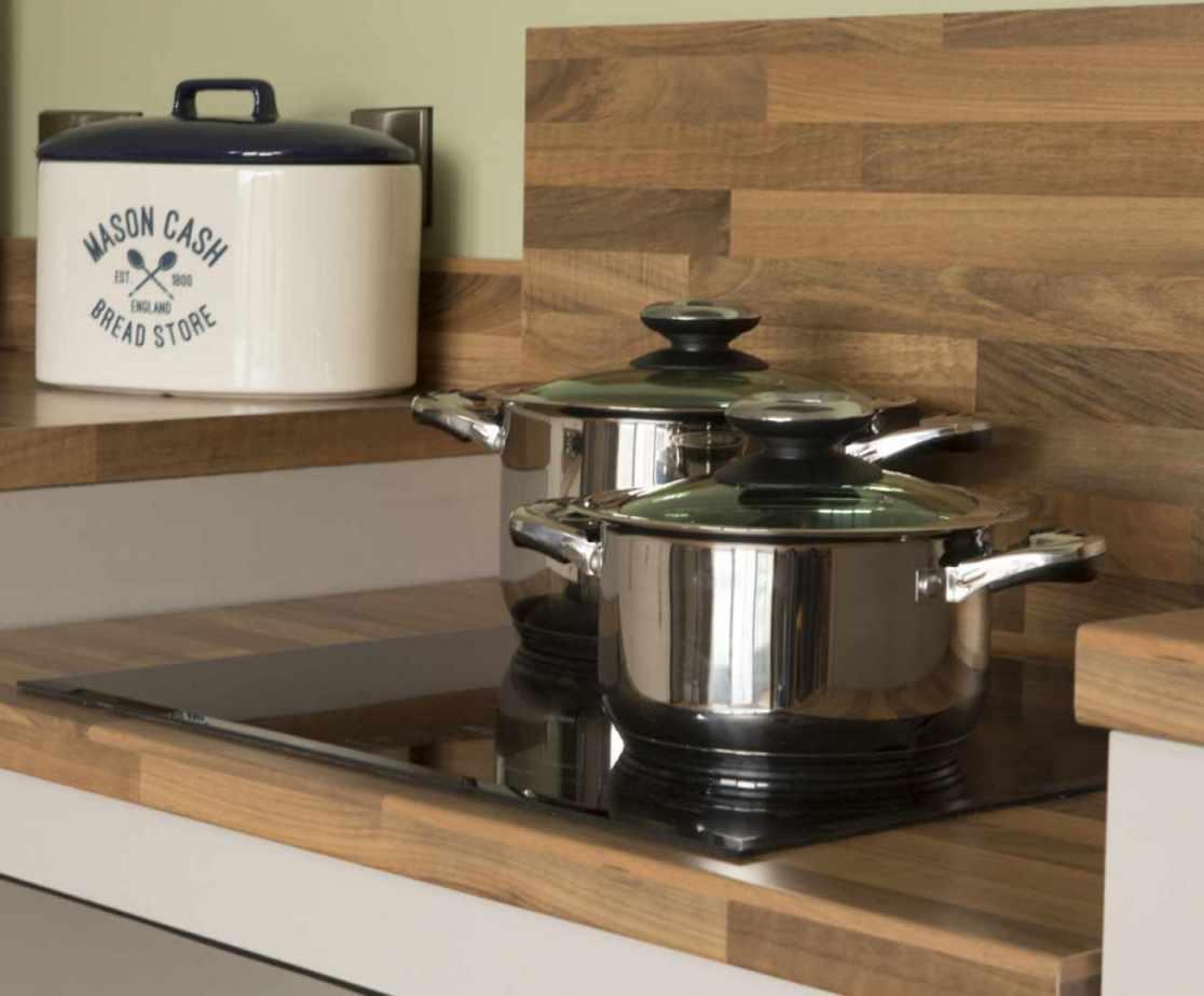 Luxury Perthshire Farmhouse, Lower hob level kitchen