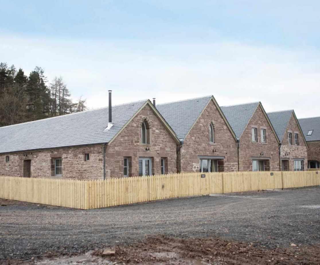 Luxury Perthshire Farmhouse, External