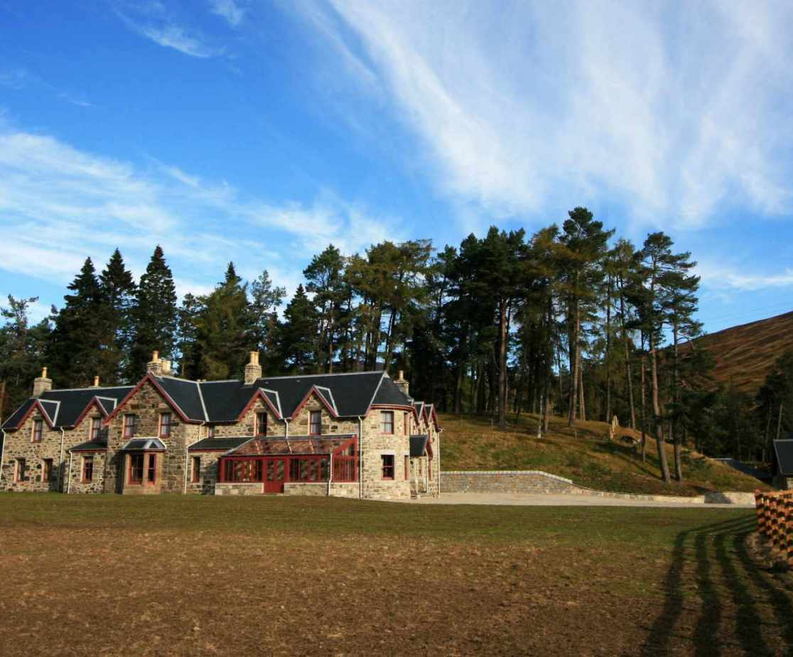 Luxury Scottish lodge available for self catering group holidays in the Highlands