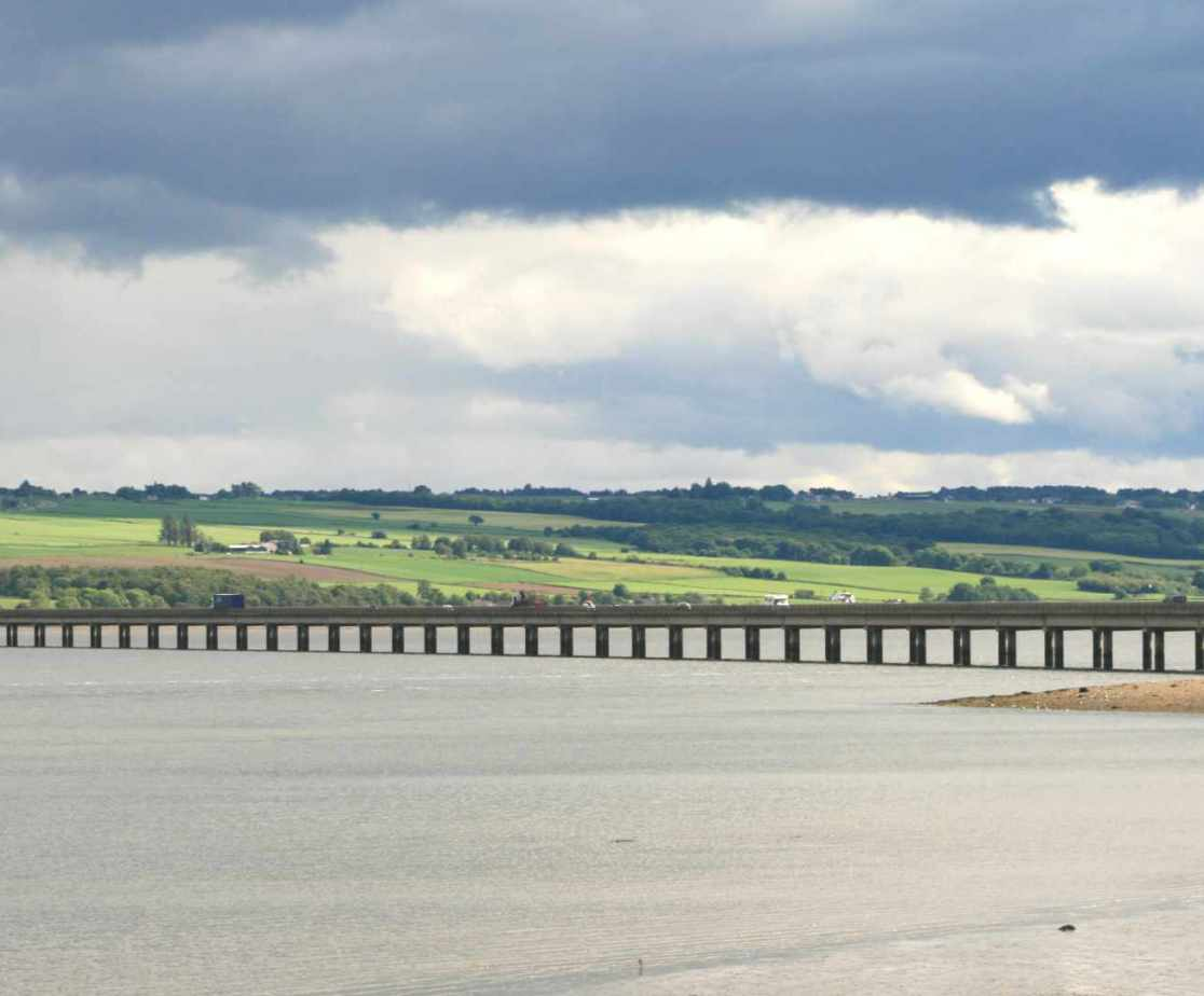 Crossing the Cromarty Firth
