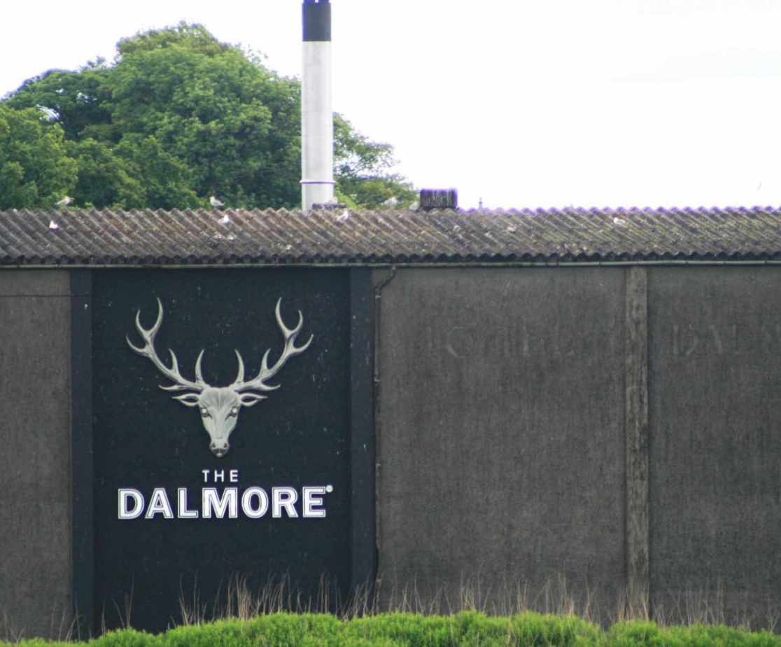 Dalmore Distillery is the closest distillery to visit