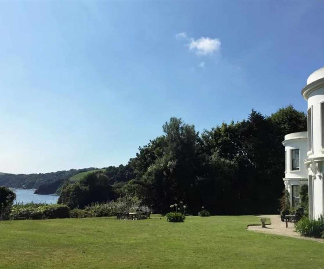 Porthpean House and garden