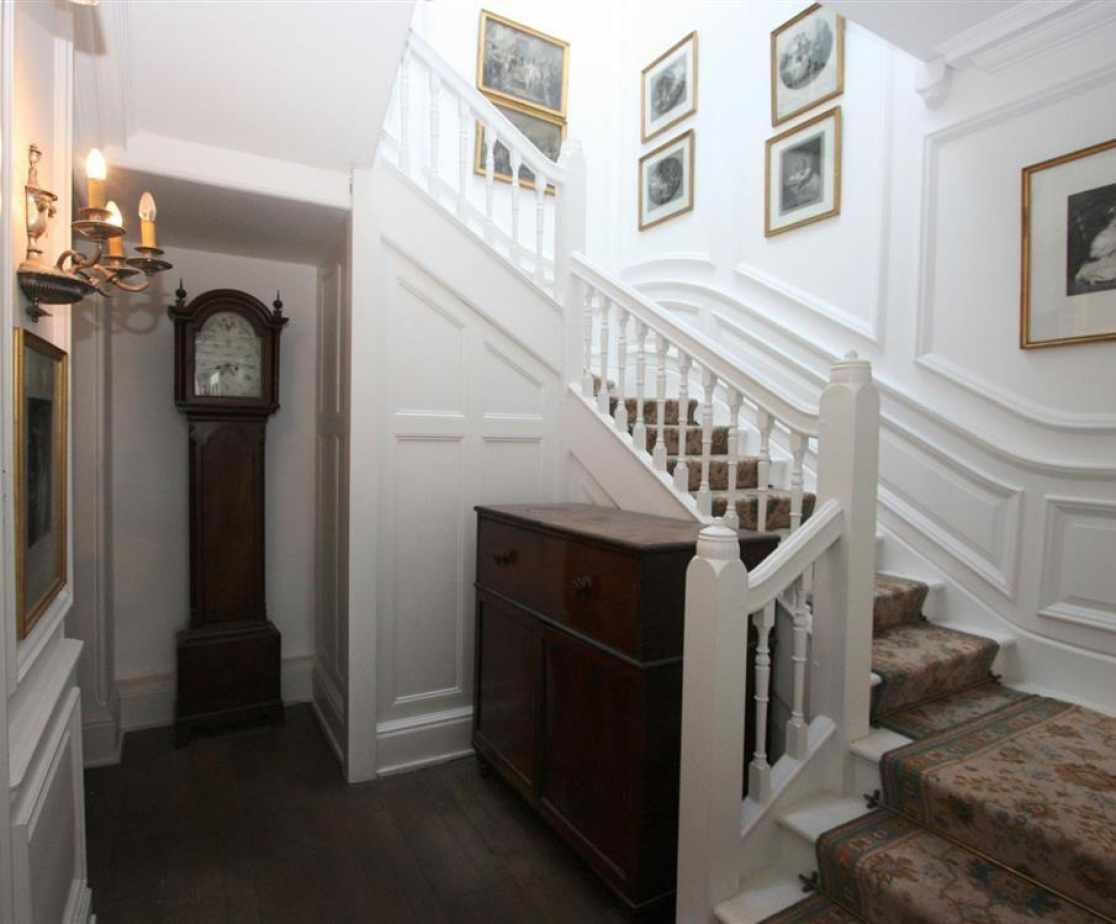 Rear Hall and Staircase