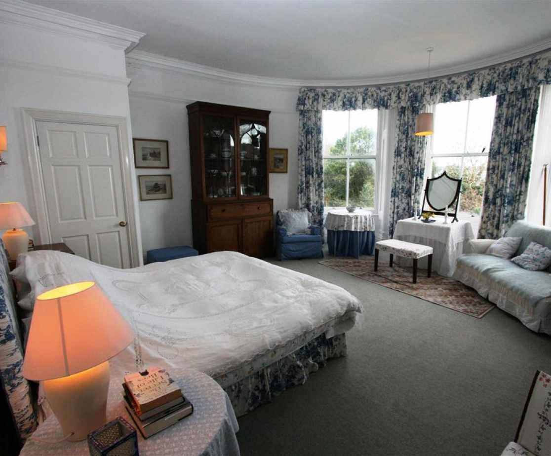 Kingsize room with lovely sea views