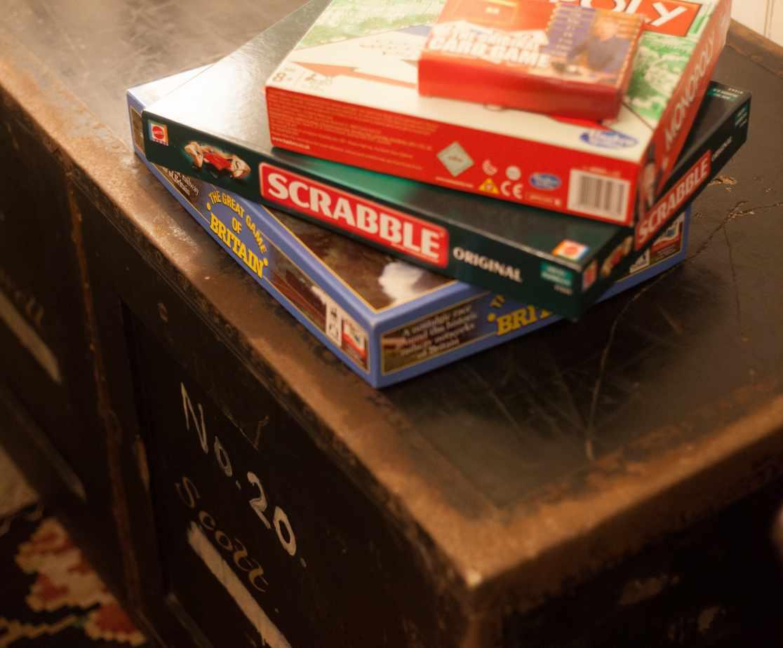 Board Games | Luxury Melrose Castle