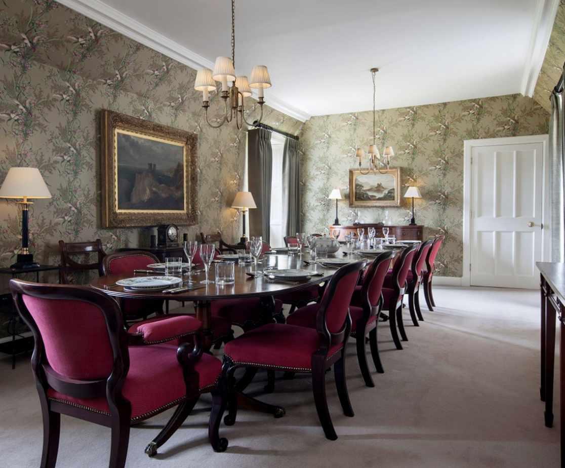 Formal Dining Room | Luxury Melrose Castle