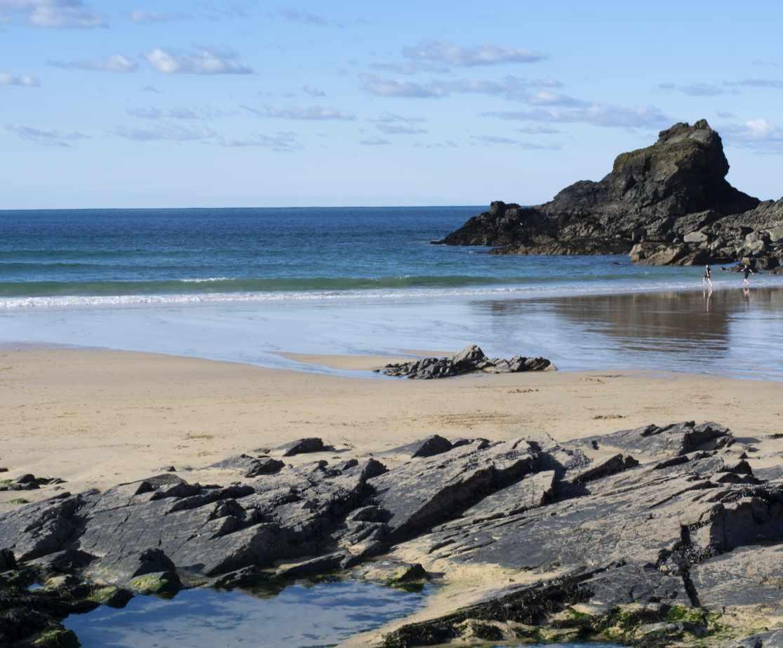 A 3 minute walk to Trevone Beach
