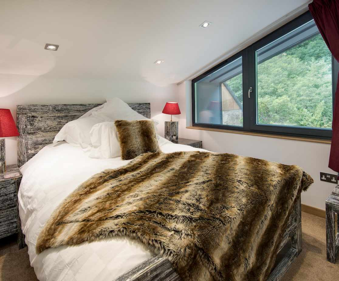 A stunning double room with en-suite