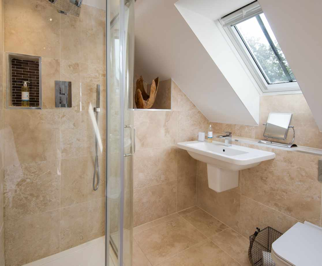 One of many stunning bathrooms
